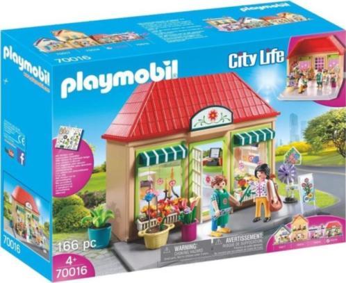 Mijn bloemenwinkel Playmobil (70016)
