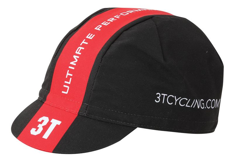 PET CAS 3T TEAM CYCLING CAP ZW/RO UNI