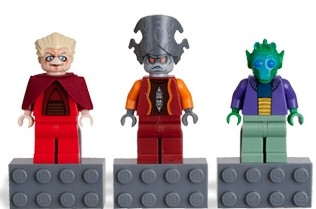 Lego Chancellor Palpatine Magneten 3-Pack Magneet