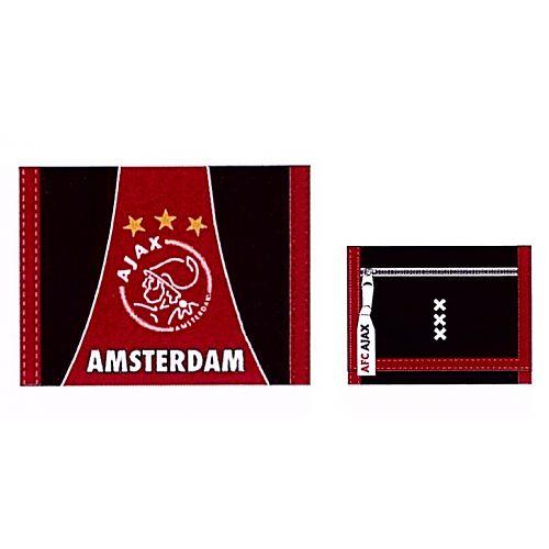 Portemonnee Ajax Groot Rood/Zwart Logo