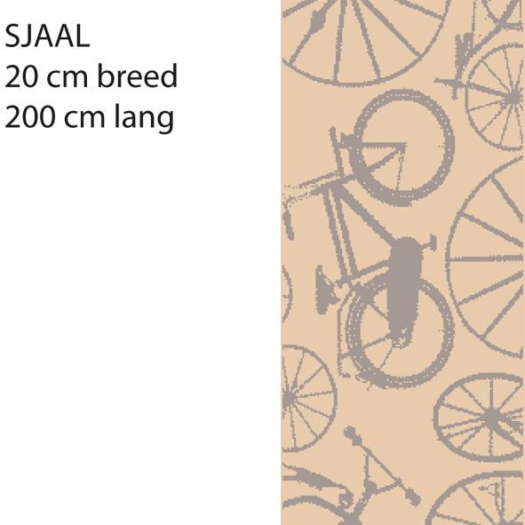 MBB Cort sjaal beige/grs