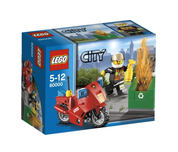 Lego 60000 Brandweermotor Motor