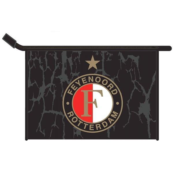 Toilettas Feyenoord Rood/wit/zwart