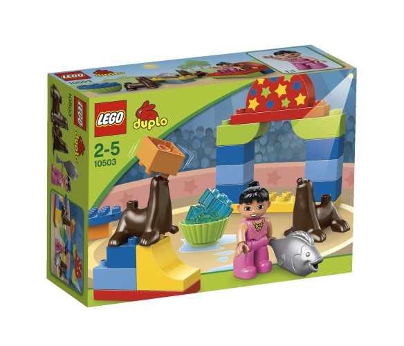 Lego 10503 Grote Circus Show Duplo