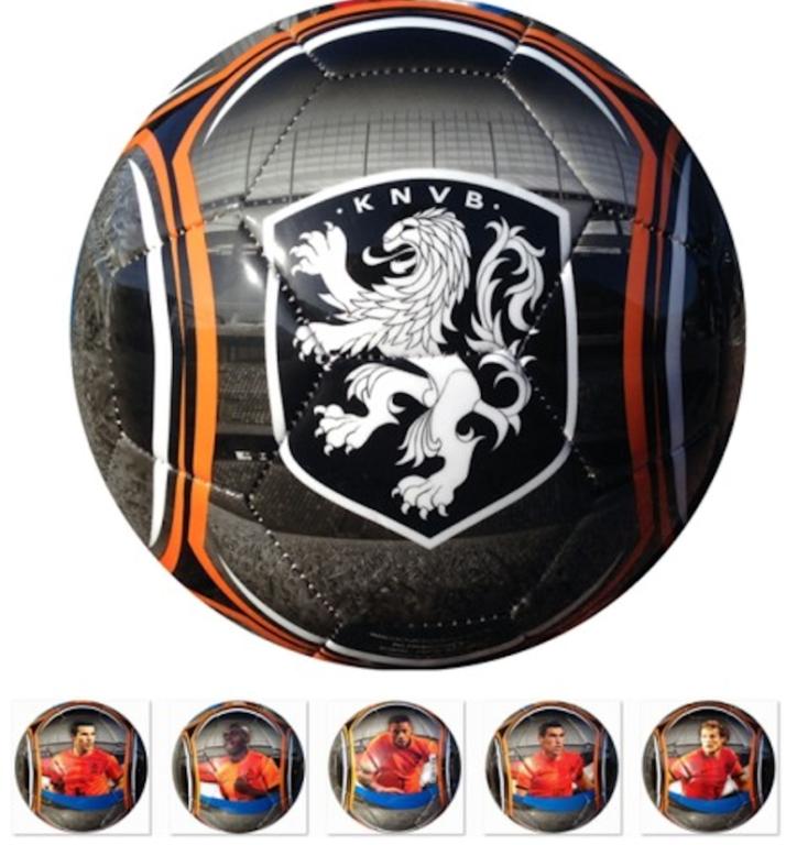 Bal Holland Leer Groot KNVB Stadion 5 Spelers