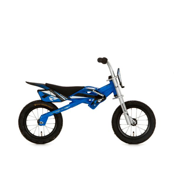 Kawasaki loopfiets 12 J metaal blauw