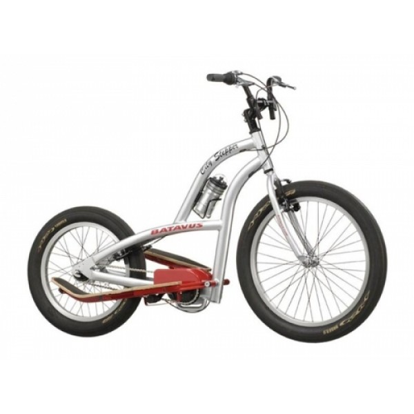 BIKESTEPPER CITY ZILVER