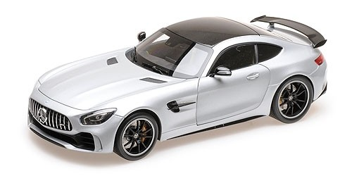 Mercedes AMG GT R 2017 ZILVER (1:18) ALMOST REAL