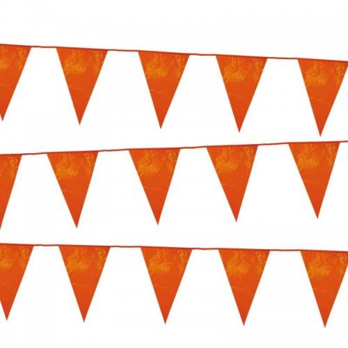 Vlaggenlijn Vlag Holland Oranje 10 Meter