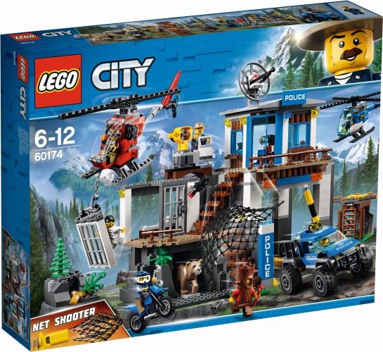 Politiekantoor op de berg Lego (60174)