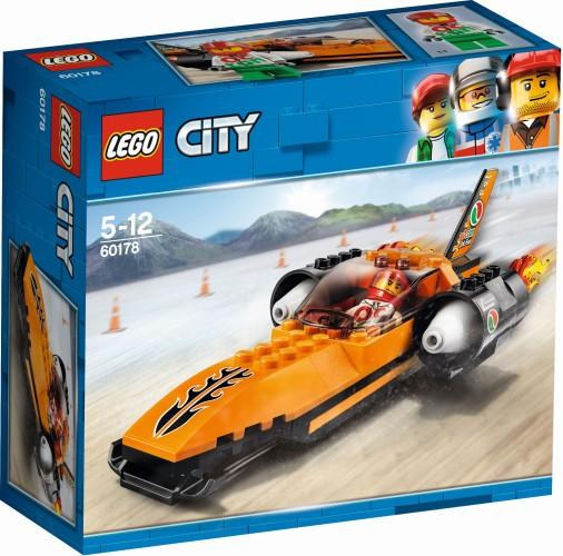 Snelheidsrecord auto Lego (60178)