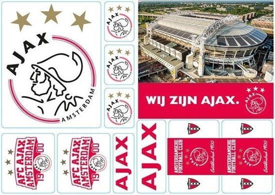 Stickervel Ajax A5