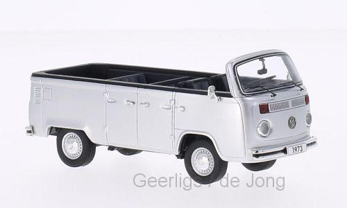 VW T2b OPEN AIR BUS 1973 (WIT) (1:43)(44034-18401)