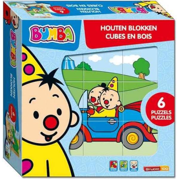 Puzzel Bumba houten blokken (PUZZ340111)