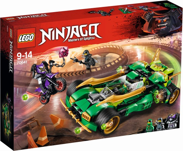 Ninja Nachtracer Lego (70641)