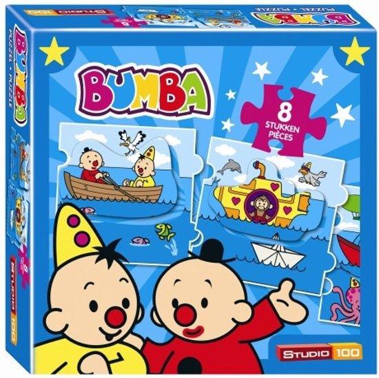 Puzzel Bumba Zee 8 Stukjes (PUZZ340109)