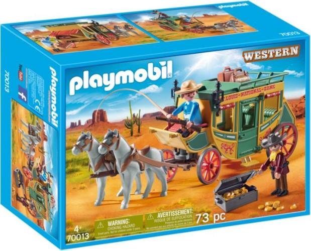 Playmobil Postkoets Western Playmobil (70013)