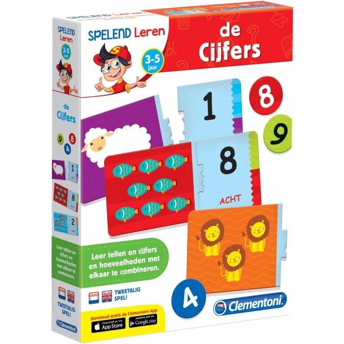Spelend leren de cijfers Clementoni (66765.9)