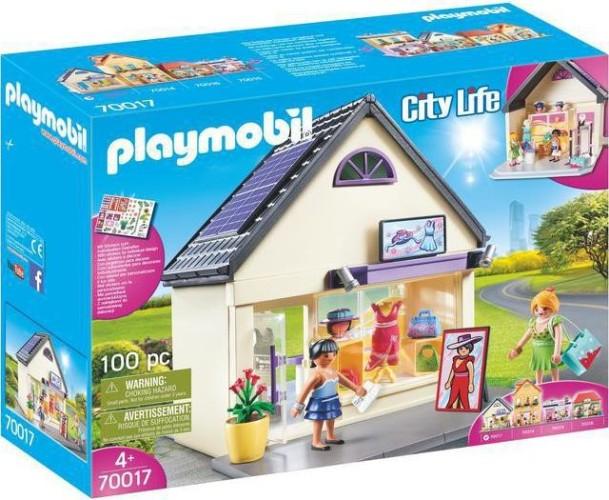 Mijn modehuis Playmobil (70017)