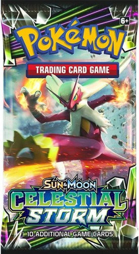 Pokemon booster SM7: Sun & Moon Celestial Storm