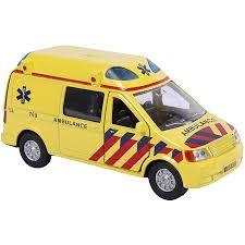 Auto pb Kids Globe ambulance + licht/geluid (510643)