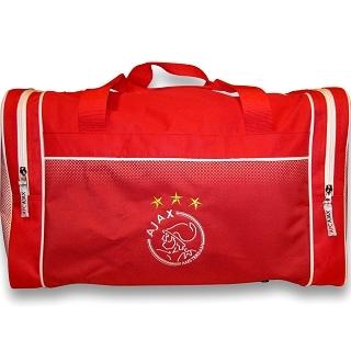 Sporttas Ajax Rood-Wit Logo