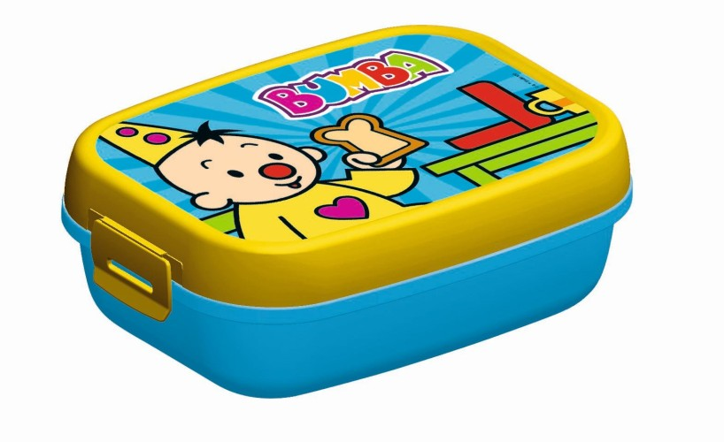 Lunchbox Bumba Blauw/geel