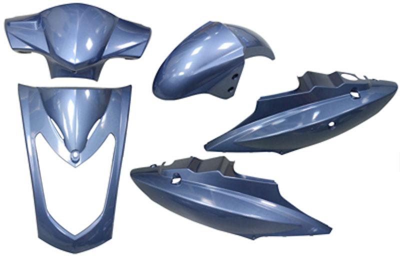 Plaatwerkset 2-pers. Agility blauw DMP 5-delig