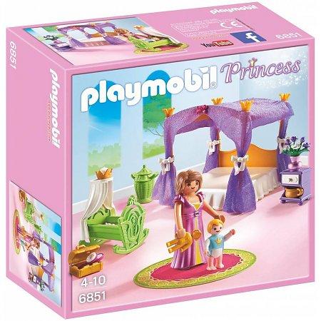 Koninklijke Slaapkamer met hemelbed Playmobil (6851)