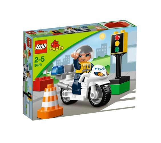 Politiemotor Duplo Lego 5679