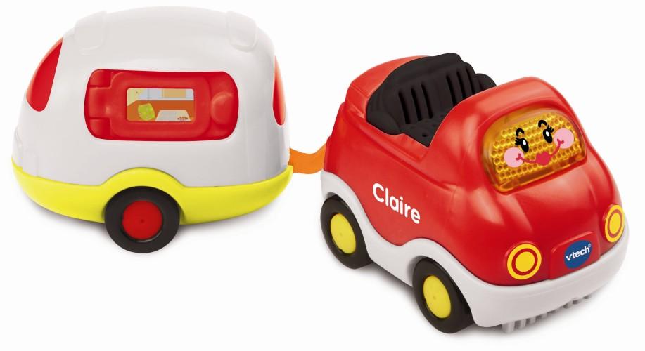 Vtech Toet Toet Auto Claire & Caravan 12+ mnd