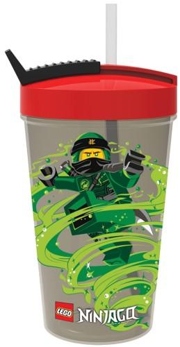 Drinkbeker met rietje Lego Ninjago classic