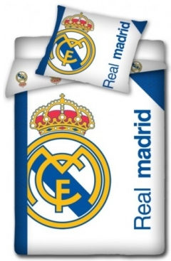 Dekbed Real Madrid Logo White 140x200