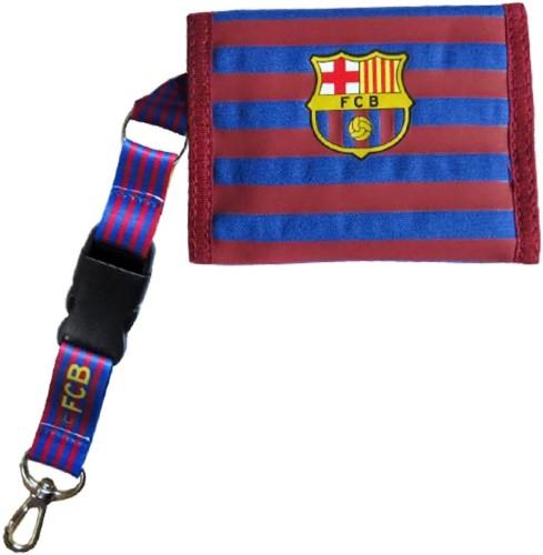 Portemonnee Barcelona rood/blauw bars (5004CBH)
