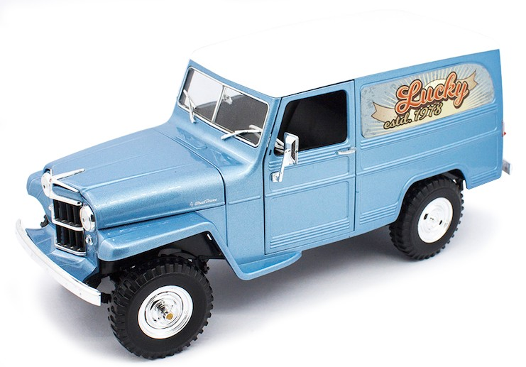 Willys JEEP STATION WAGON 1955 (1:18) ROAD SIGNATURE