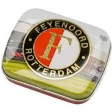Mintdoosje Feyenoord Groen-Wit