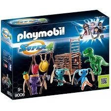 Alien krijgers met T-Rex Playmobil 9006