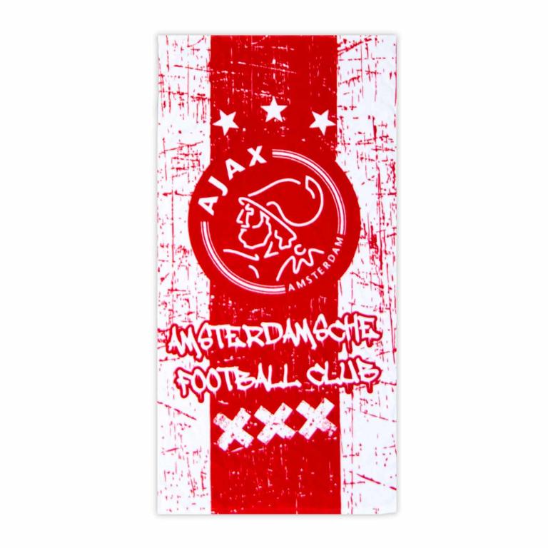 Ajax Handdoek Grunge (HAND010135) 120x60