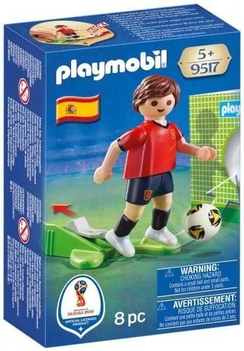 Voetballer Frankrijk Playmobil (9517)