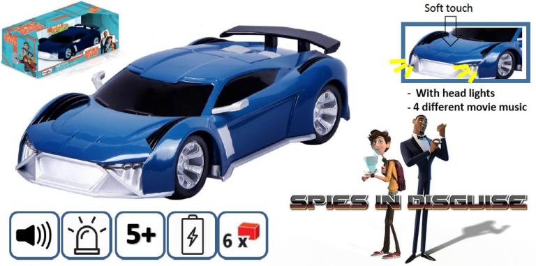 Audi E-TRON MOTOSOUNDS SPIES DISGUISE 2019 (1:24) MAISTO