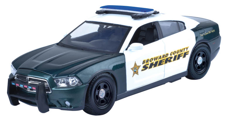 DODGE CHARGER PURSUIT BROWARD COUNTY SHERIFF 2011(1:24)