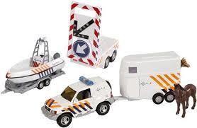 Politieset 2-Play met 2 aanhangers en pijlwagen (510156)