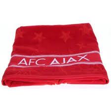 Handdoek Ajax Rood 50x100 cm (HAND010132)