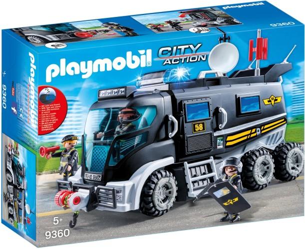 SIE-truck met licht en geluid Playmobil (9360)