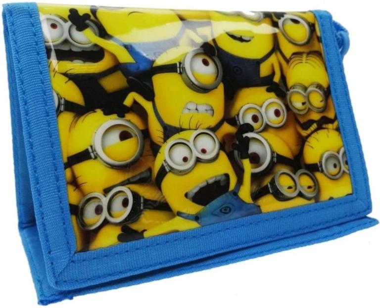 Portemonnee Minions 10x10x1 cm (004001)