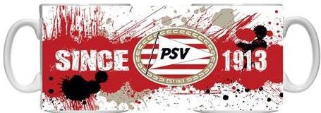 Mok PSV Wit/rood Splash (1003030044)