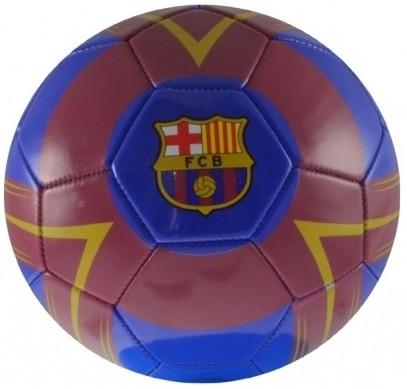 Barcelona Bal Crest Leer Groot Blauw Rood