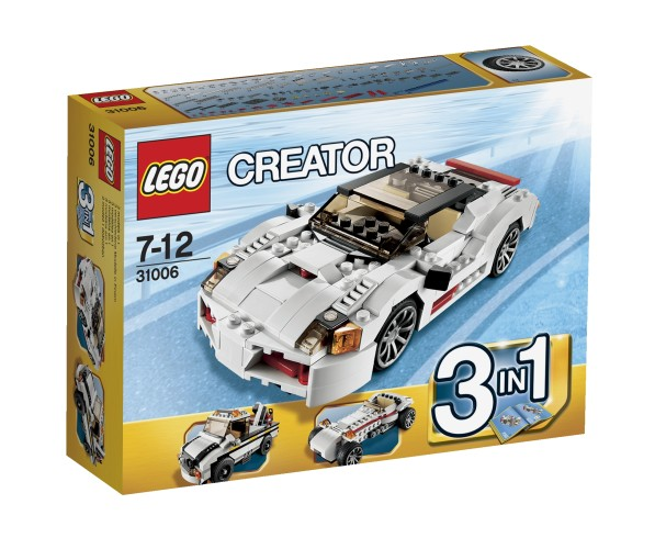 Creator 3 in 1 Snelle Racewagen Lego 31006