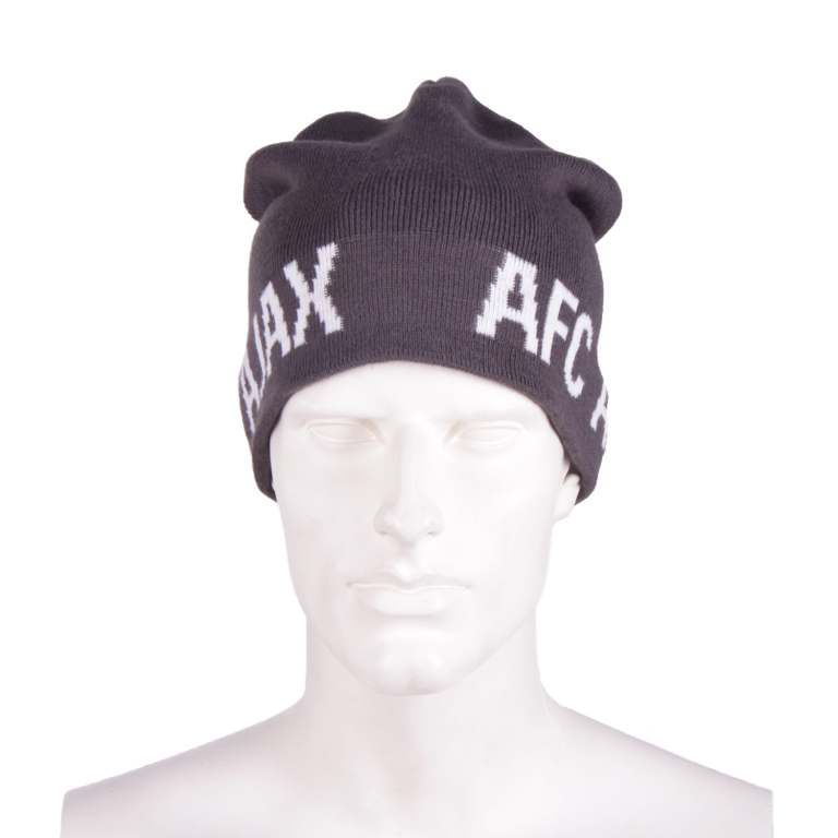 Ajax Muts Donkergrijs AFC Ajax in wit
