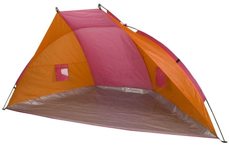 Shelter Tent Easy-up Systeem Oranje/Fuchsia
